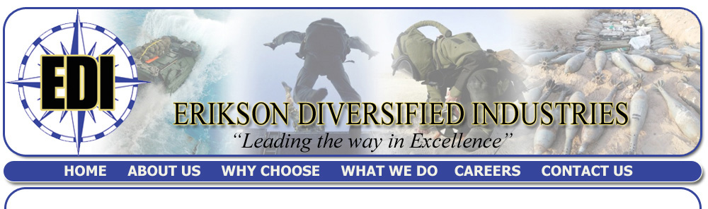 Erikson Diversified Industries (EDI) - Fredericksburg, Virginia